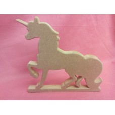 18mm MDF Standing Unicorn
